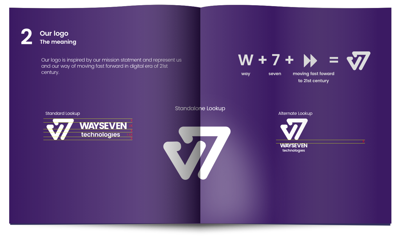 WaySeven - Dedicated Brand book